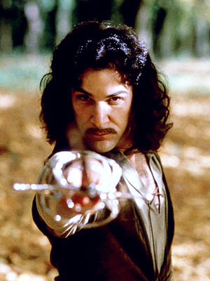 Hello! My name is Inigo Montoya! You killed my father! Prepare to die!