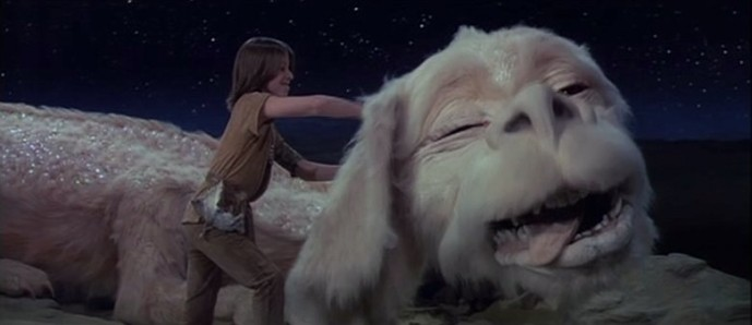 Falcor, the luck-dragon-flying-dog thing.