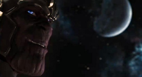 thanos image as seen in the Avengers credit scenes