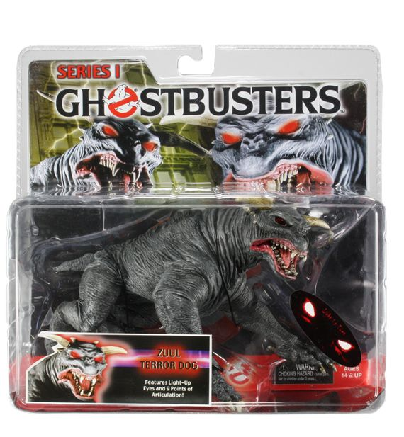 Zuul terror dog - ghostbusters action figure giveaway