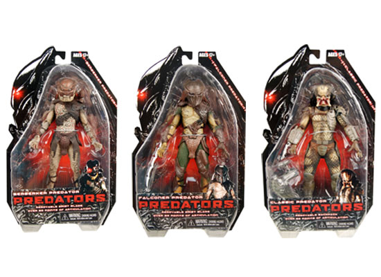 predators packaging